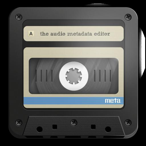 Meta 2.0.7 破解版 – 音频元数据音乐标签信息编辑器