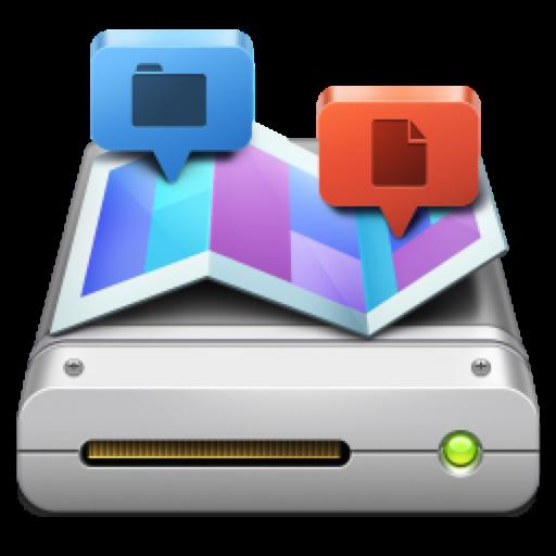Disk Map 2.6 破解版 – 显示磁盘空间占用状态的工具