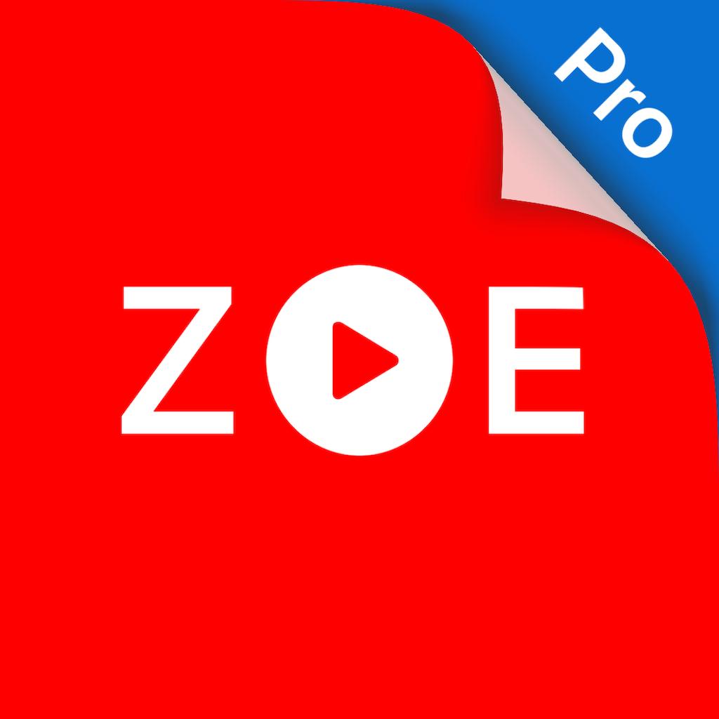 ZOE - Video Player PRO 1.9.0 破解版 – 视频播放器专业版