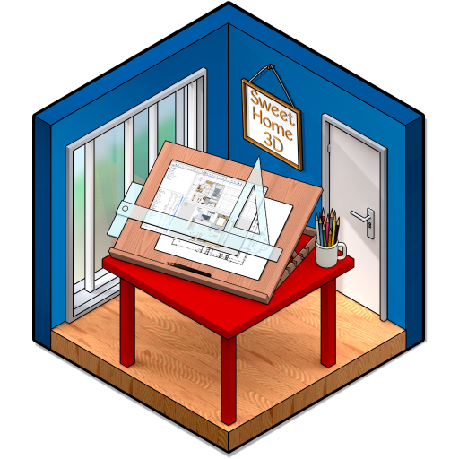 Sweet Home 3D 6.5.5 破解版 – 3D室内设计软件