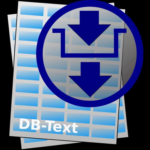 DB-Text 1.11 破解版 – 数据库文本格式打开和编辑工具