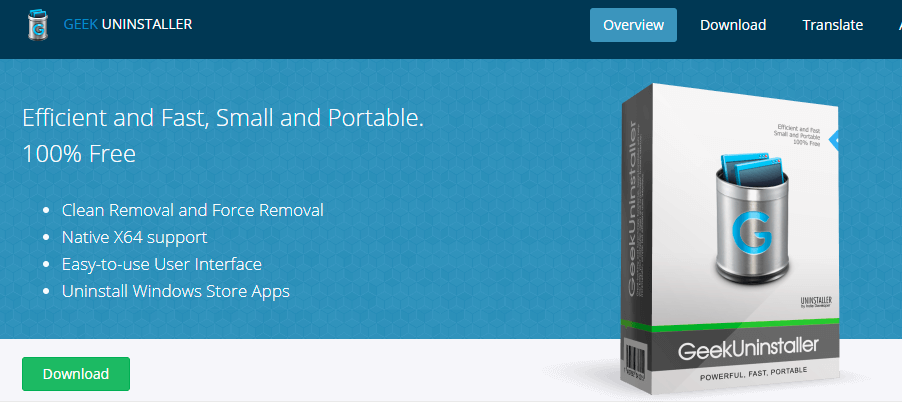 Geek Uninstaller,快速轻便免安装的Windows软件卸载工具