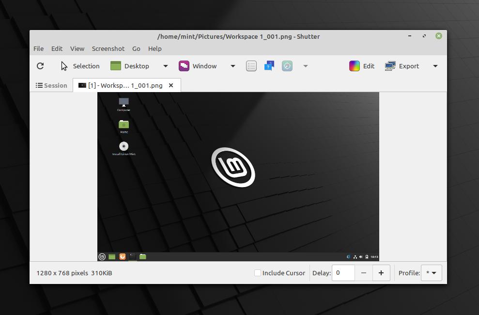 Shutter PPA 0.98-1 - linux 截图工具